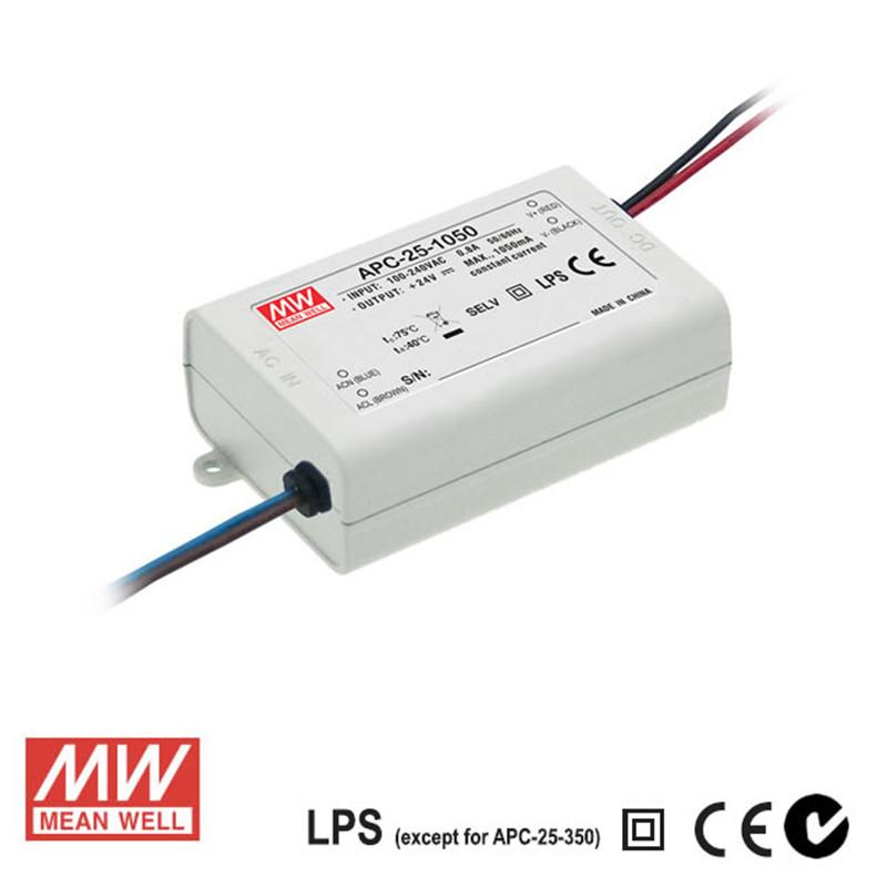 Meanwell LED Power Supply 25W 500mA - DC Driver from Meanwell for $43.60
