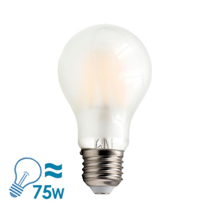 e-photon Filament LED A60 Series E27 Bulb, 6W, Dimmable - Frosted