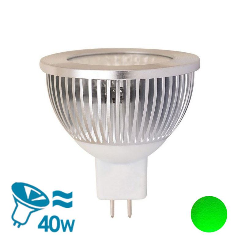Eurotech Lighting LED MR16 Bulb, 5W - Green from Eurotech Lighting for $37.99