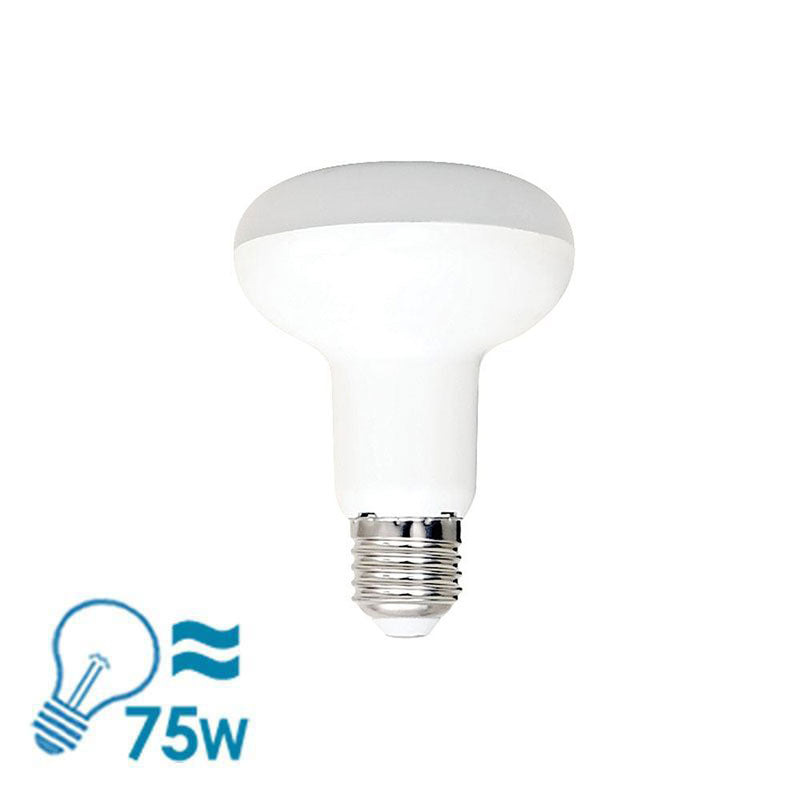 GEO LED R80 Series LED E27 Bulb, 9W - Dimmable