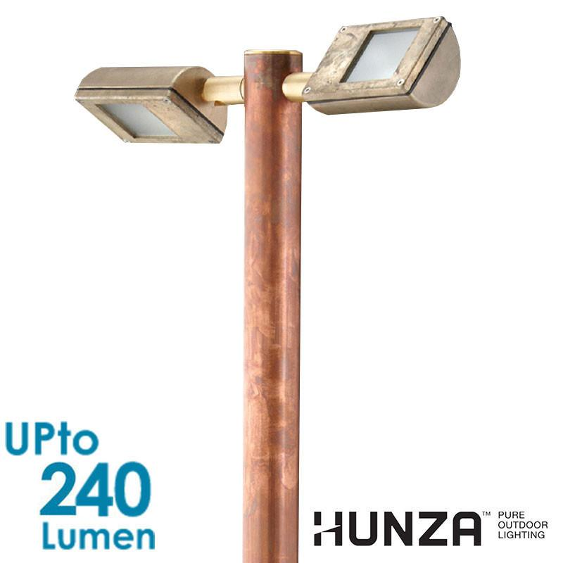 HUNZA Border Lite Twin 2x 2W Pure LED - Pole / Flange Mount from HUNZA for $444.99
