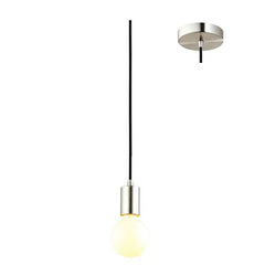 Eurotech Lighting Interior Cordset Pendant - Brushed Chrome from Eurotech Lighting for $29.99