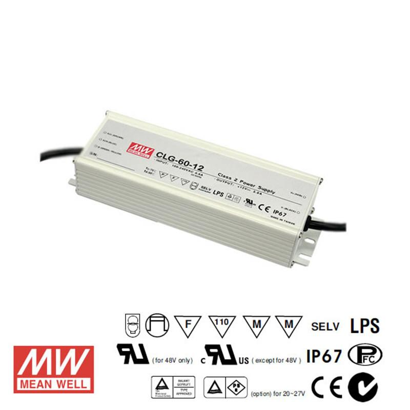 Meanwell LED Power Supply 60W 12V - DC Driver from Meanwell for $183.94