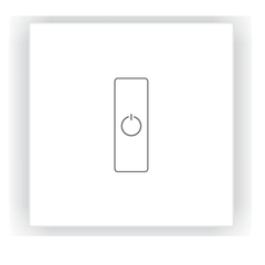 DA1 DALI LED Dimmer - Glass Panel, Single Channel, DC from LTECH for $109.12