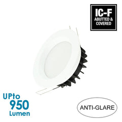 LEDFocus 12W LED Downlight - White - IP44 - Dimmable - Anti-glare from LEDFocus for $22.99