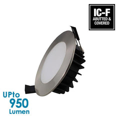 LEDFocus 12W LED Downlight - Chrome - IP44 - Dimmable from LEDFocus for $22.99