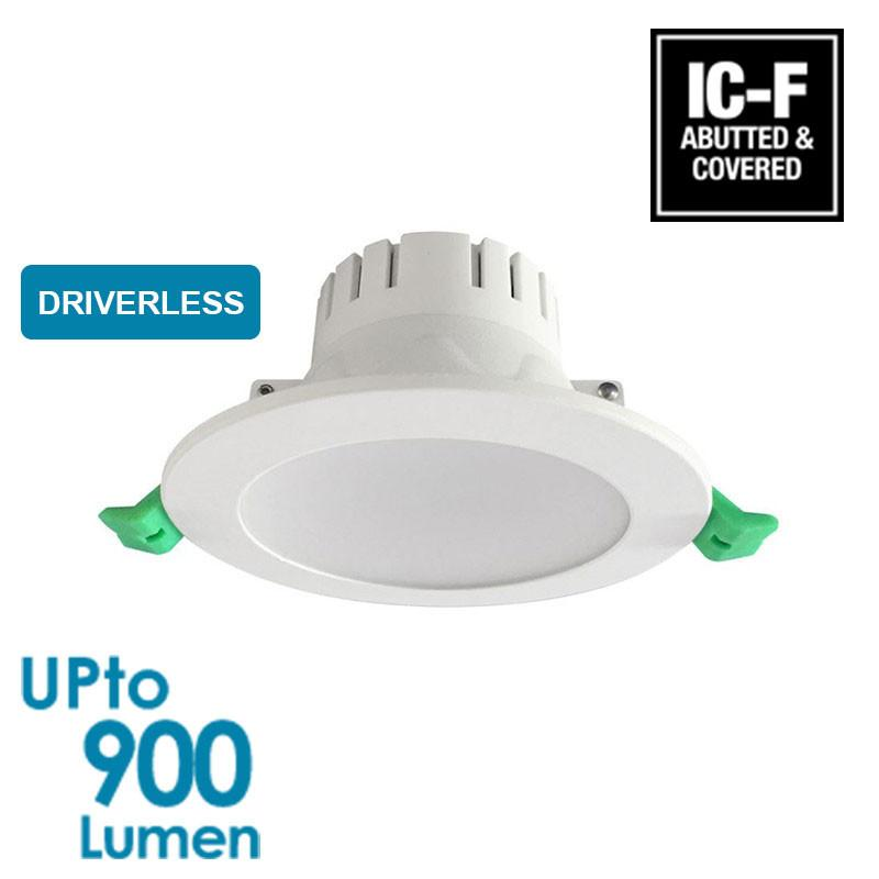 econLED 10W LED Downlight - Dimmable - Driverless