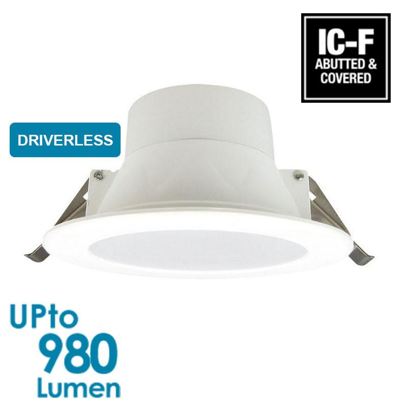 econLED 12W LED Downlight - Dimmable - Driverless