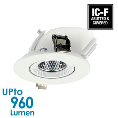 GEO LED 13W Downlight - Tiltable - Dimmable from Eurotech Lighting for $79.99