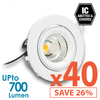 Limited Bundle! BEACON 9W LED Downlight - Dimmable - Tiltable - 40x Pack!