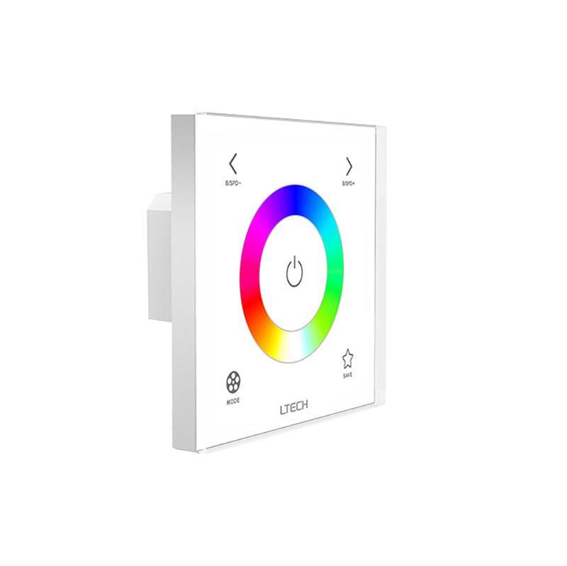 E3S LED Colour Controller - Glass Panel, RGB, DC