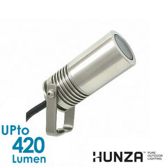 HUNZA Euro Spot 4W Pure LED - Stainless Steel 316 - Ground - Deck from HUNZA for $459.99