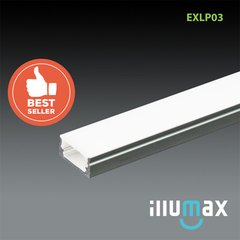 iLLUMAX LED Aluminum Extrusion EXLP03 - 2 Metres from iLLUMAX for $49.94