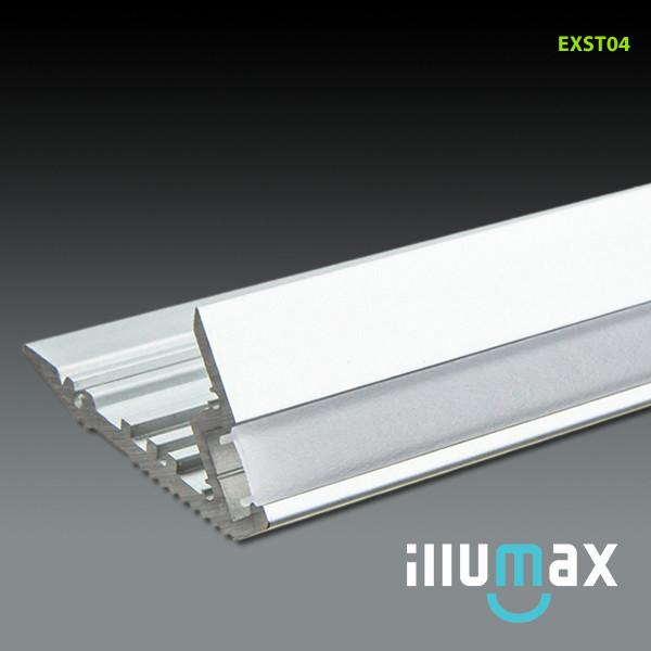 LED Aluminum Extrusion EXST04 - 2 Metres from iLLUMAX for $93.89
