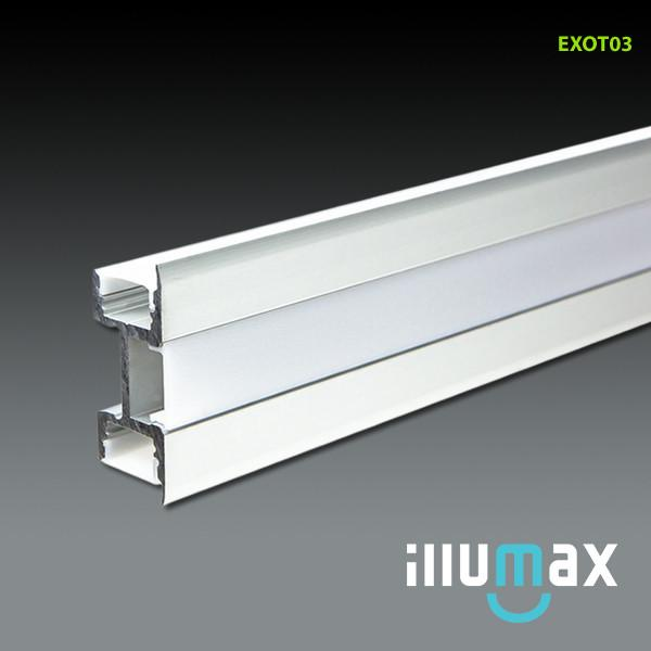 LED Aluminum Extrusion EXOT03 - 2 Metres from iLLUMAX for $143.18