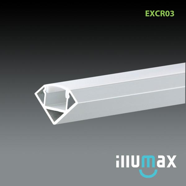 iLLUMAX LED Aluminum Extrusion EXCR03 - 2 Metres from iLLUMAX for $45.99