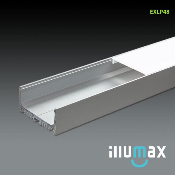 iLLUMAX LED Aluminum Extrusion EXLP48 - 2 Metres from iLLUMAX for $114.99