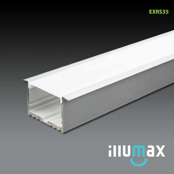 iLLUMAX LED Aluminum Extrusion EXRS35 - 2 Metres from iLLUMAX for $110.32