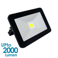 econLED 20W LED Flood Light - 230V AC - Without Sensor - Black Body from Eurotech Lighting for $66.99