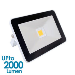 econLED 20W LED Flood Light - 230V AC - Without Sensor - White Body from Eurotech Lighting for $66.99