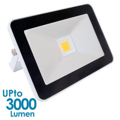 econLED 30W LED Flood Light - 230V AC - Without Sensor - White Body from Eurotech Lighting for $94.99