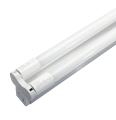 LED T8 4-Feet (1.2metre) 2 x Tubes with 1 x Dual Batten, 2 x 18W - Cool White 6500K - Indoor - No Diffuser from Generic Brand for $93.99