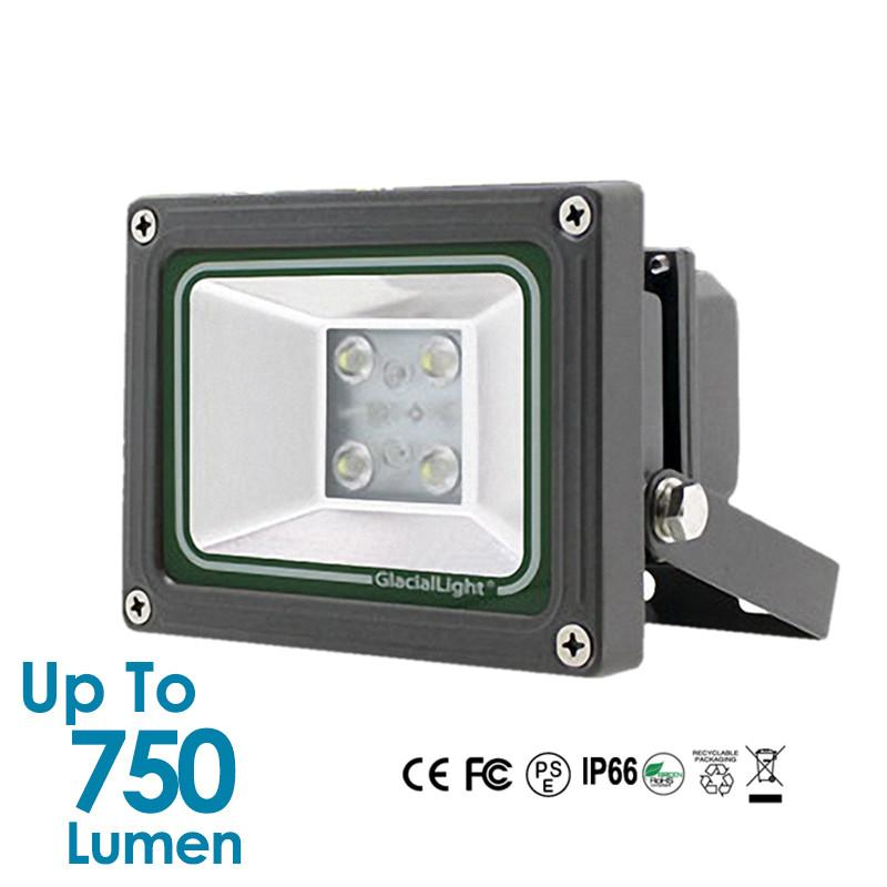 13W Glacial LED Flood Light