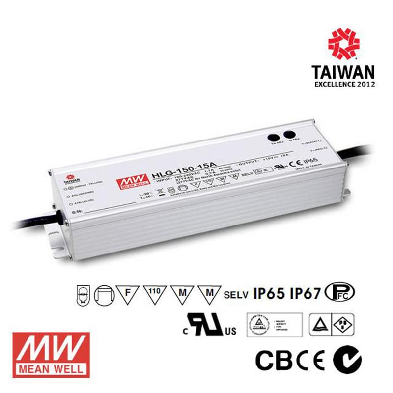 Meanwell LED Power Supply 150W 24V - DC Driver
