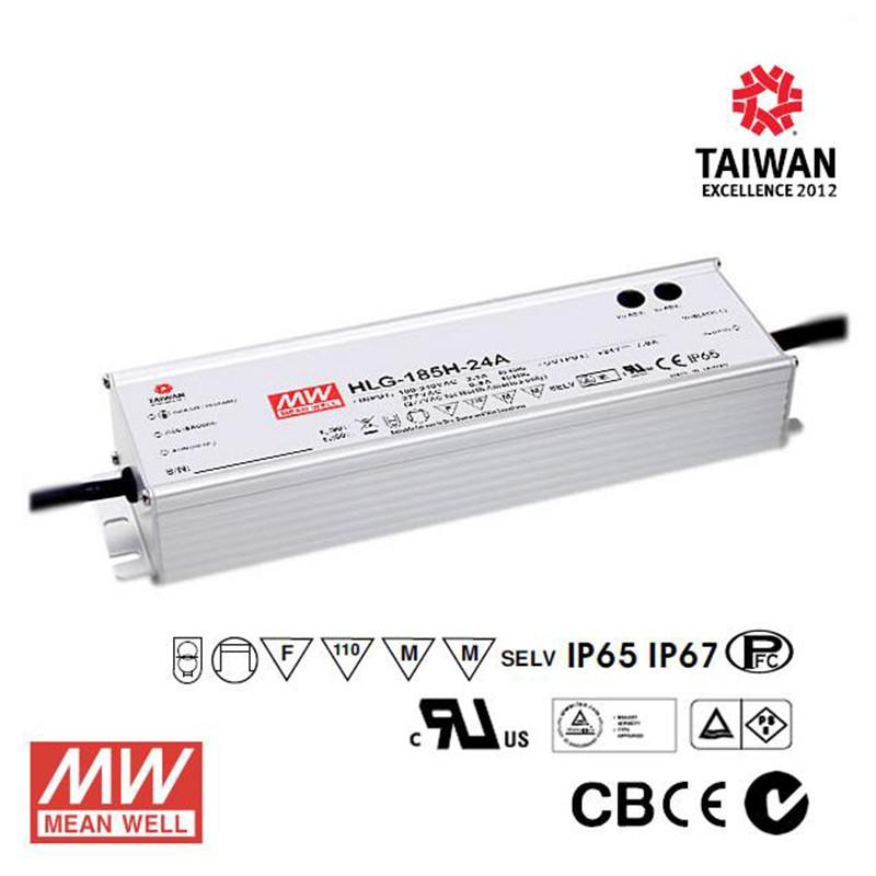 Meanwell LED Power Supply 185W 24V - DC Driver from Meanwell for $228.99