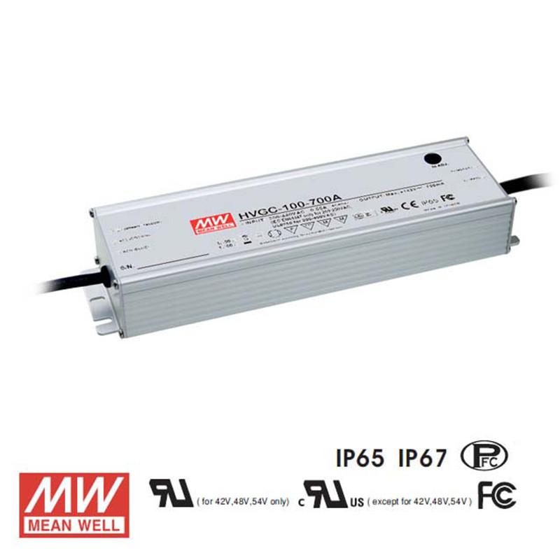 Meanwell LED Power Supply 100W 700mA - DC Driver from Meanwell for $227.39
