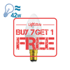 FSL LED B15 Candle Bulb, 5W from FSL for $55.99