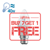 FSL LED B22 Candle Bulb, 5W from FSL for $55.99