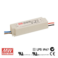 Mean Well LED Power Supply 20W 350mA - DC Driver from Meanwell for $28.99