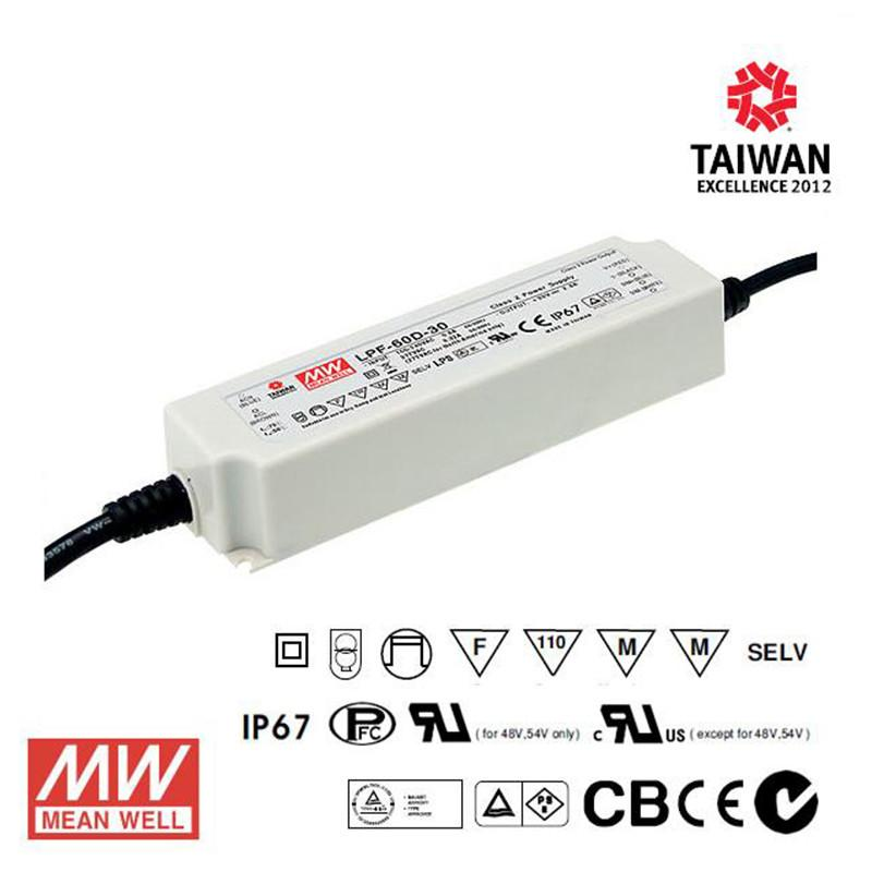 Meanwell LED Power Supply 16W 700mA - DC Driver from Meanwell for $68.28