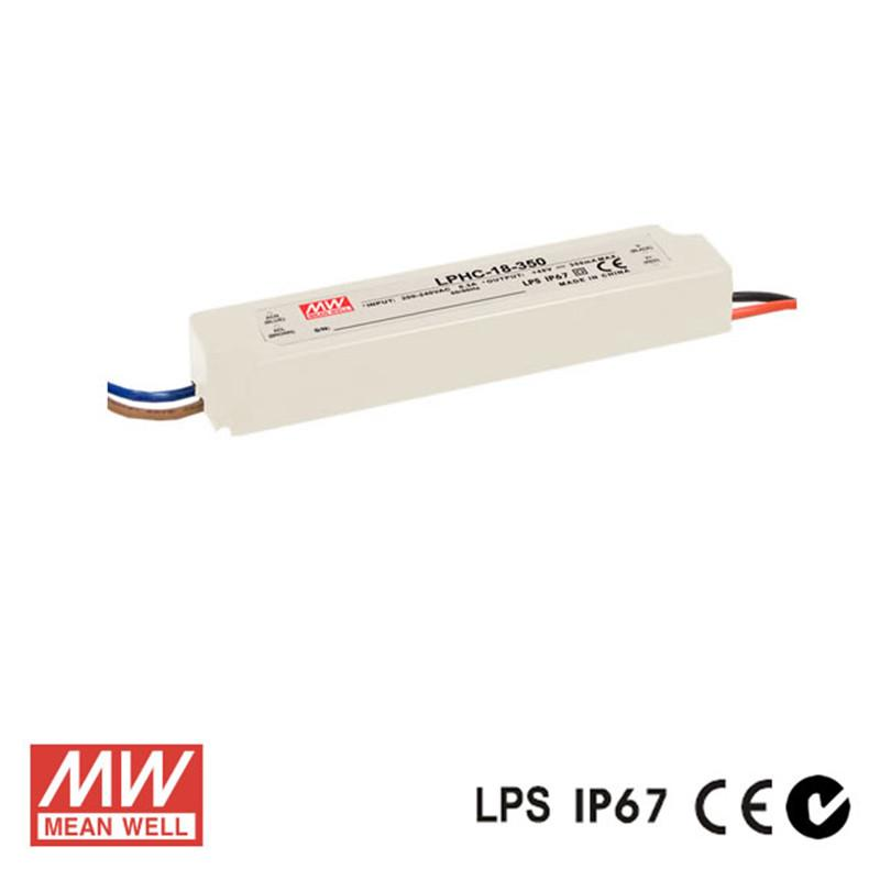 Meanwell LED Power Supply 18W 350mA - DC Driver