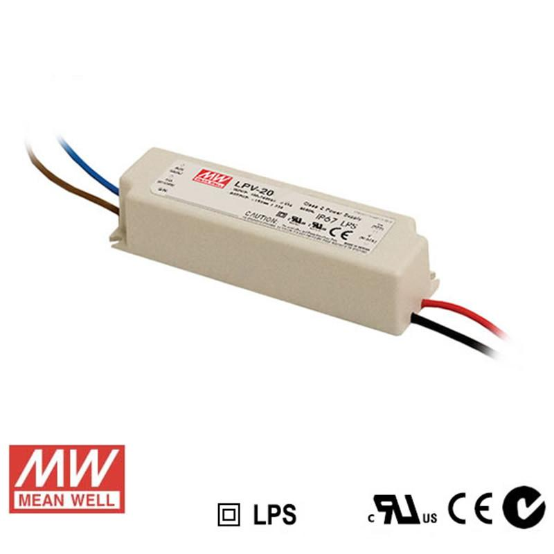Meanwell LED Power Supply 20W 24V - DC Driver from Meanwell for $43.60