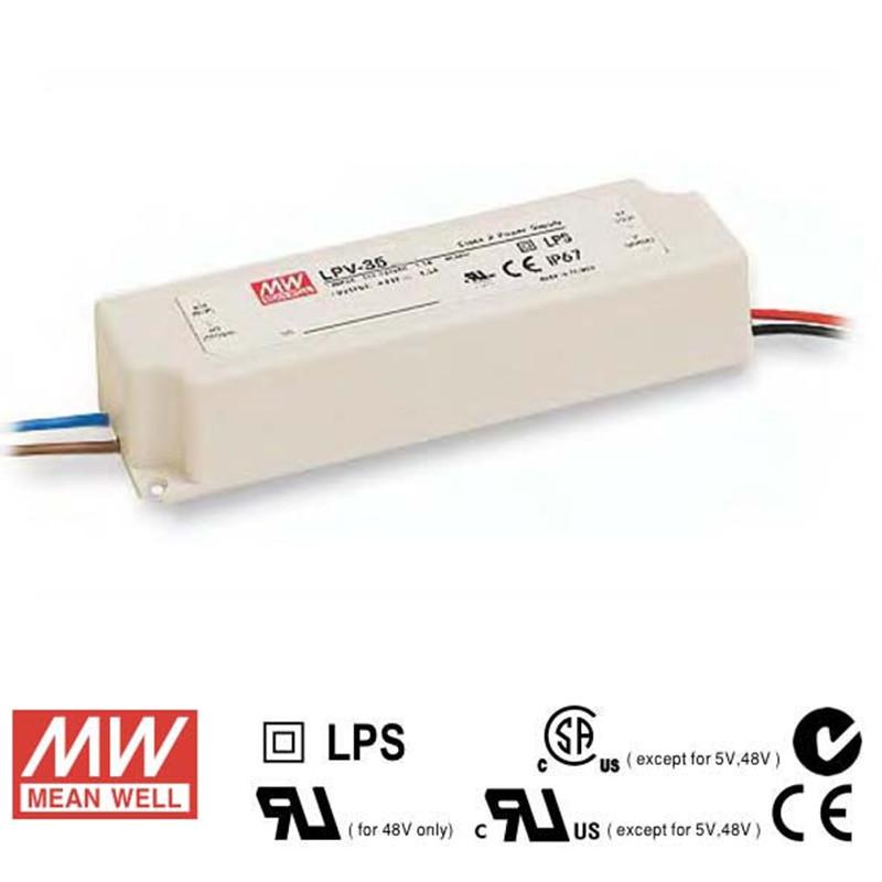 Mean Well LED Power Supply 35W 12V - DC Driver from Meanwell for $63.73