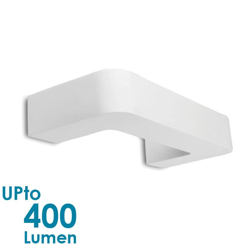 Eurotech Lighting 5W LED Interior Wall Light - NON-Waterproof - Curved Plaster from Eurotech Lighting for $114.99