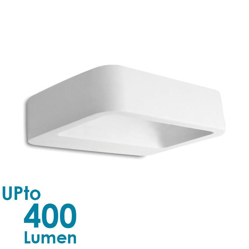 Eurotech Lighting 5W LED Interior Wall Light - NON-Waterproof - Curved Plaster