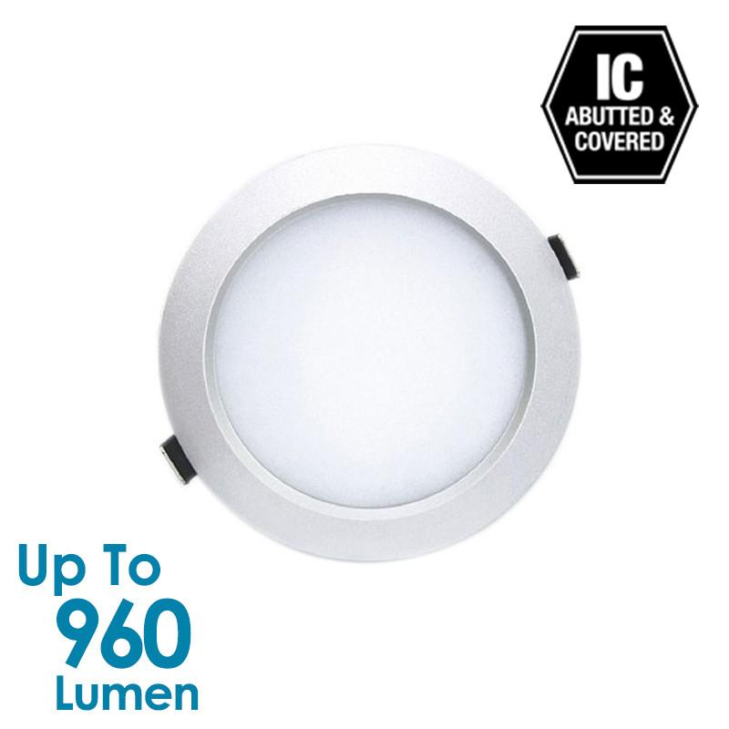 12W LED Downlight Silver from Generic Brand for $56.61