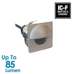 1.2W Exterior Wall LED Light - Square Eyelid from Halcyon for $204.24