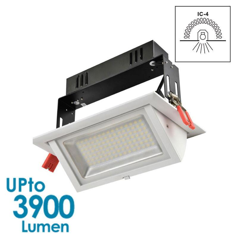 quality design 82be6 f6cc7 GEO LED Downlight 40w Shop Downlight - Tiltable - Dimmable