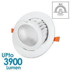 GEO LED Downlight 40w Shop Downlight - Gimbal - Dimmable from Eurotech Lighting for $183.99