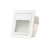 3W LED Stair Light with Frosted Glass - White - Square