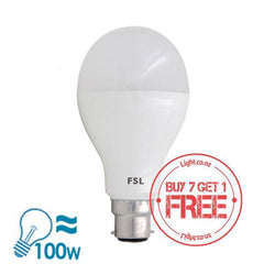 FSL A70 Series LED B22 Bulb, 13W from FSL for $8.99