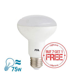 FSL R80 Series LED E27 Bulb, 11W from FSL for $13.99