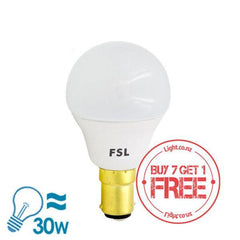 FSL LED B15 Bulb, 5W from FSL for $6.99