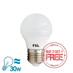 FSL LED E27 Bulb, 5W from FSL for $6.99