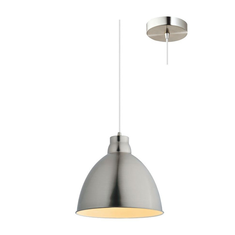 Eurotech Lighting Interior Bell Shade Pendant - Brushed Chrome from Eurotech Lighting for $109.99