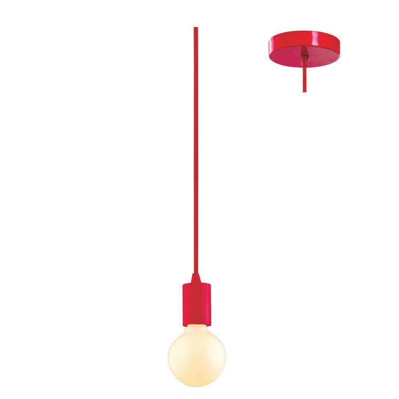 Eurotech Lighting Interior Cordset Pendant - Red from Eurotech Lighting for $29.99